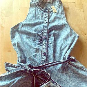 Jean Dress Simply Beautiful Sz. Medium 💥🔥